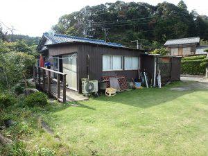 千葉県夷隅郡大多喜町堀切の不動産、田舎暮らし、移住、敷地広々174坪