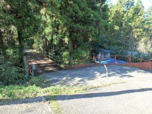 千葉県鴨川市川代の不動産、山林、別荘、キャンプ場用地、元の橋に戻りました