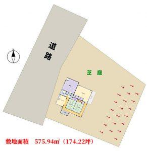 売家 夷隅郡大多喜町堀切 3DK 850万円 物件概略図