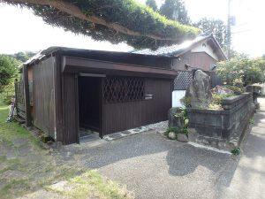 千葉県夷隅郡大多喜町堀切の不動産、田舎暮らし、移住、倉庫の増築がある