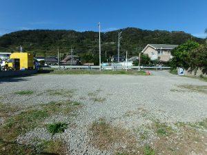 千葉県南房総市和田町白渚の不動産、土地、海が目の前、海望む、背後の山緑も良い感じ