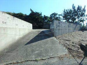 千葉県南房総市白浜町根本の不動産、海が見える土地、別荘用地、次は上段に行ってみます
