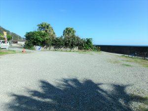 千葉県南房総市和田町白渚の不動産、土地、海が目の前、海望む、海側に遮るものは無い