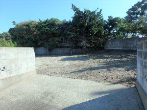 千葉県南房総市白浜町根本の不動産、海が見える土地、別荘用地、スロープも含み約116坪
