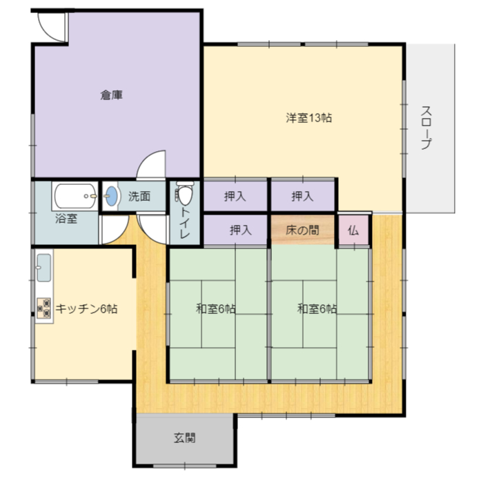 夷隅郡大多喜町堀切の不動産、中古住宅