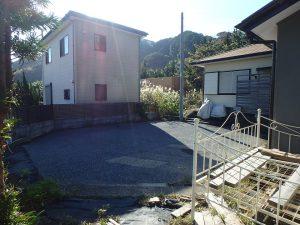 千葉県館山市波左間の不動産、中古別荘、海の近く、コンパクトな建物、ここで車は回転できます