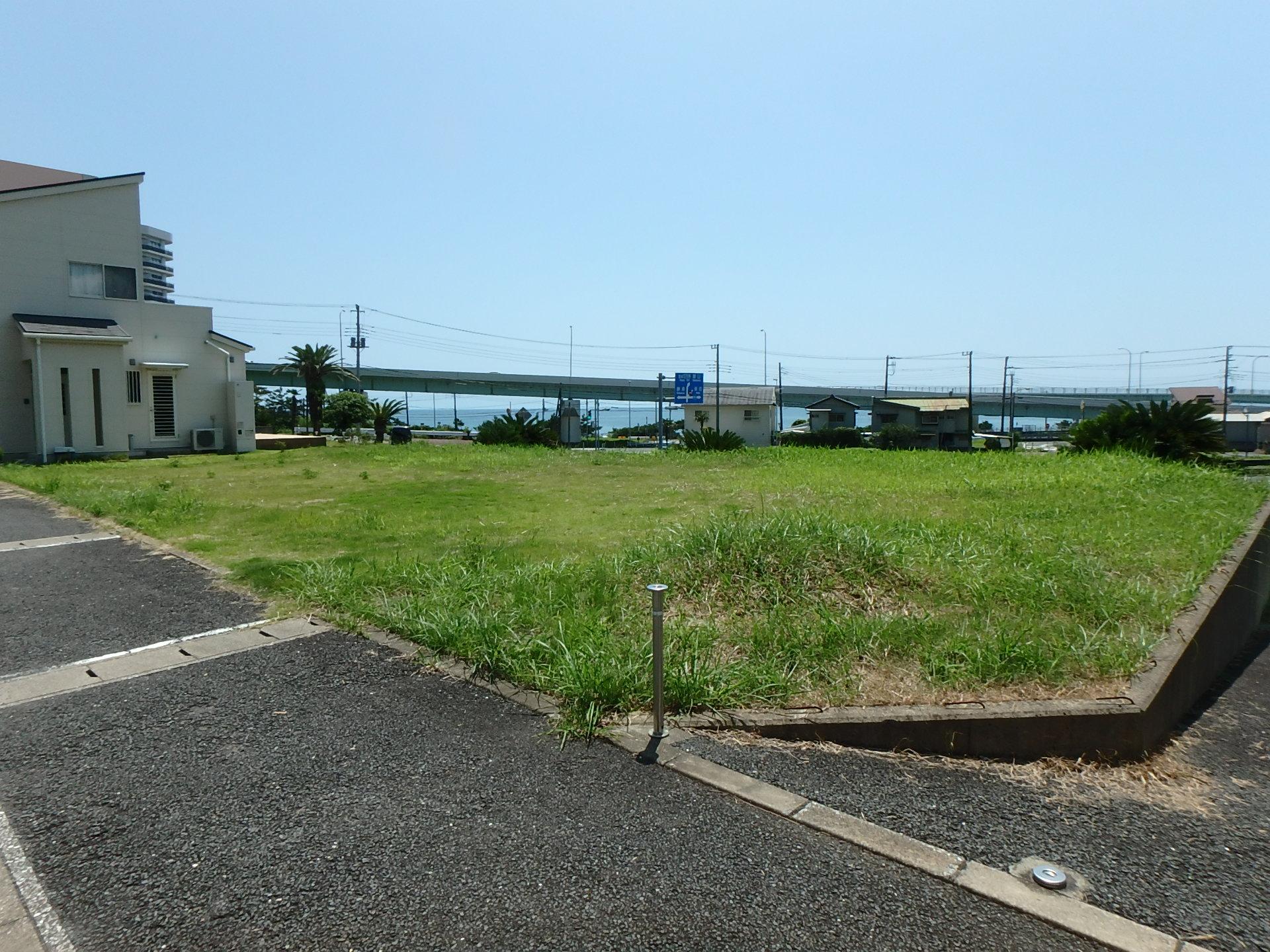 千葉県鴨川市東町の不動産、土地、海が見える、マルキポイント近く、ご商談中