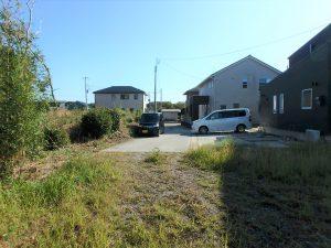 千葉県南房総市千倉町の不動産、土地、分譲地、移住、別荘用地、南側の私道は持分有り
