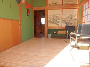 千葉県南房総市白浜町滝口の不動産、海が見える別荘・保養所、海一望、旅館部屋のようです