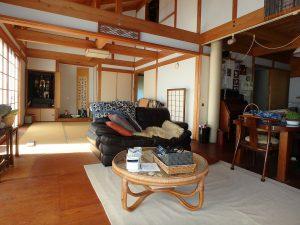 千葉県鴨川市天面の不動産、海が見える家、海前、別荘、隣接して和室です