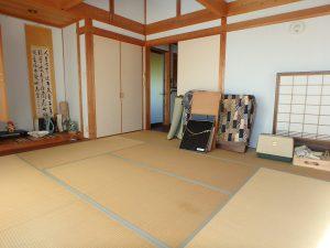 千葉県鴨川市天面の不動産、海が見える家、海前、別荘、和室は8帖