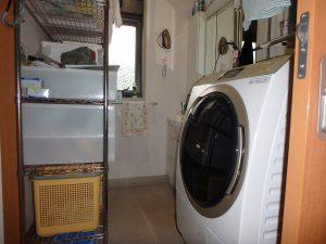 千葉県鴨川市東町の不動産、中古戸建て、積水ハウス施工、洗面脱衣室です