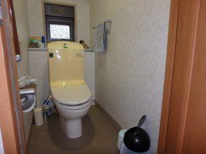 千葉県鴨川市東町の不動産、中古戸建て、積水ハウス施工、トイレは1階と2階に