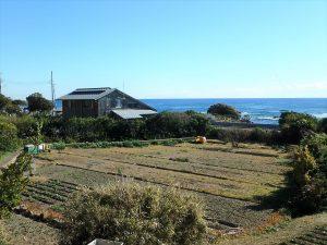 千葉県鴨川市天面の不動産、海が見える家、海前、別荘、壮大で碧い海を前にする