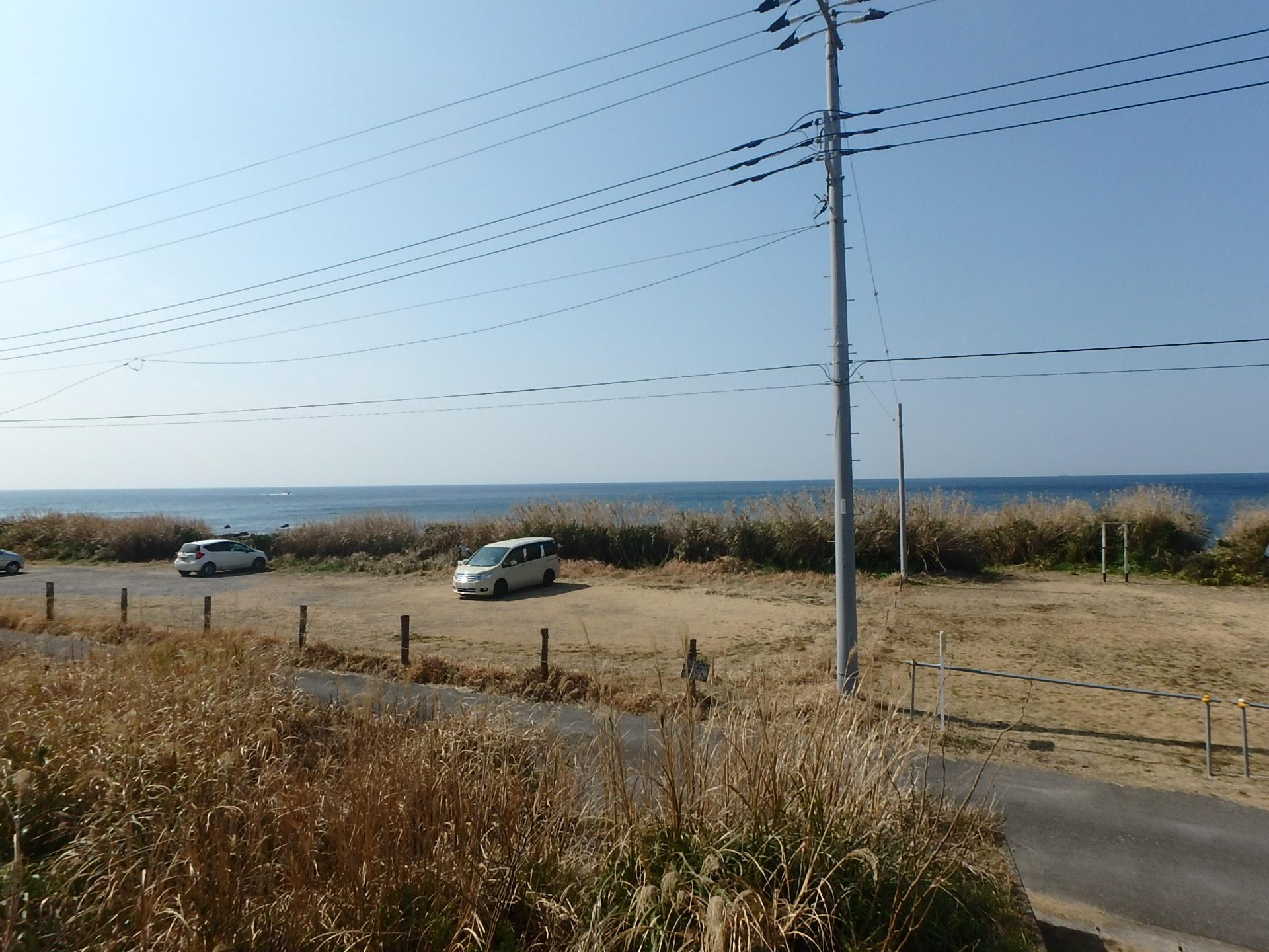 千葉県館山市布良の海っぺり土地、ご商談中