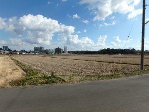 千葉県鴨川市東町の不動産、中古戸建て、積水ハウス施工、東側には田園が広がる