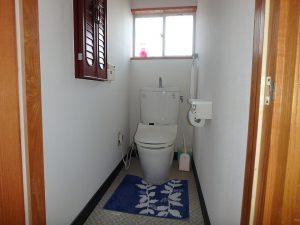 千葉県南房総市白浜町滝口の不動産、海が見える別荘・保養所、海一望、1階のトイレ