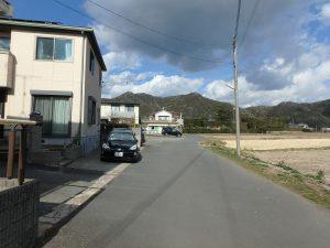 千葉県鴨川市東町の不動産、中古戸建て、積水ハウス施工、緑の景色も気持ちよい