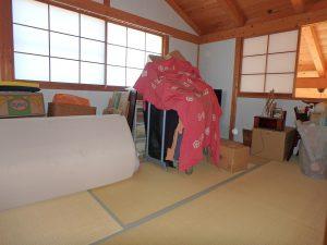 千葉県鴨川市天面の不動産、海が見える家、海前、別荘、奥の和室は6帖部屋