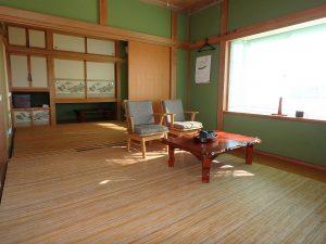 千葉県南房総市白浜町滝口の不動産、海が見える別荘・保養所、海一望、扉で仕切ることも可能