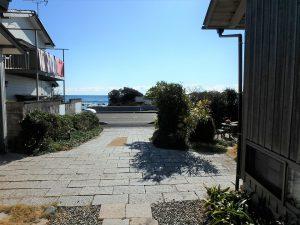 千葉県鴨川市天面の不動産、海が見える家、海前、別荘、続いて外回り