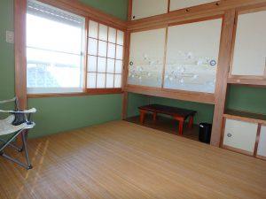 千葉県南房総市白浜町滝口の不動産、海が見える別荘・保養所、海一望、何れも4帖半です