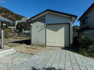 千葉県鴨川市天面の不動産、海が見える家、海前、別荘、ガレージ倉庫もあります
