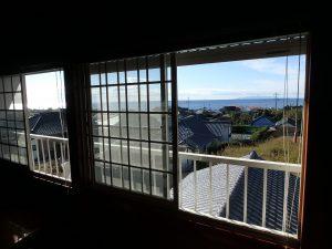 千葉県南房総市白浜町滝口の不動産、海が見える別荘・保養所、海一望、窓の外は水平線のパノラマ