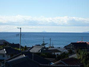千葉県南房総市白浜町滝口の不動産、海が見える別荘・保養所、海一望、伊豆諸島も見えてしまう