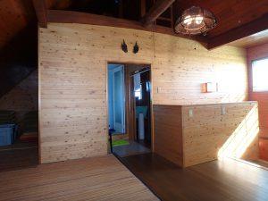 千葉県南房総市白浜町滝口の不動産、海が見える別荘・保養所、海一望、収納とバスルームもある