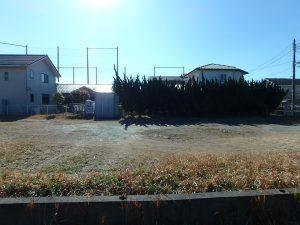 千葉県館山市八幡の不動産、土地、住宅用地、南面間口が広く陽当り良し