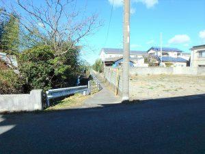 千葉県館山市北条の不動産、海の近く、海が見える土地、おどや近く、西側には海方面への歩道