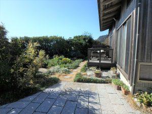 千葉県鴨川市天面の不動産、海が見える家、海前、別荘、陽当り良く快適です