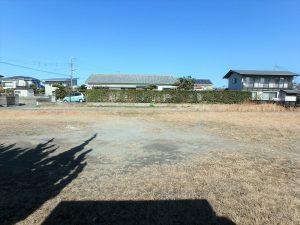千葉県館山市八幡の不動産、土地、住宅用地、隣接地との間合いも良い
