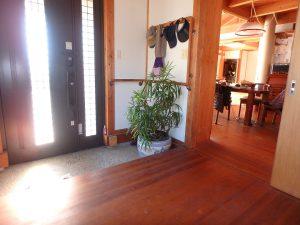 千葉県鴨川市天面の不動産、海が見える家、海前、別荘、無垢の床板が気持ち良い
