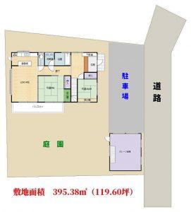 海望大型売別荘 南房総市白浜町滝口 7LDK+ロフト 2650万円 物件概略図