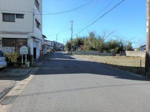 千葉県館山市北条の不動産、海の近く、海が見える土地、おどや近く、接道も広くて安心