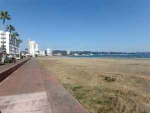 千葉県鴨川市前原の不動産、土地、前原海岸近く、別荘、移住用途、海の散歩は日課です