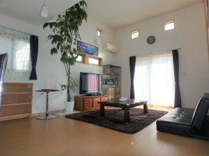 千葉県館山市湊の不動産、中古住宅、戸建て、移住、開放感あるLDKは17帖