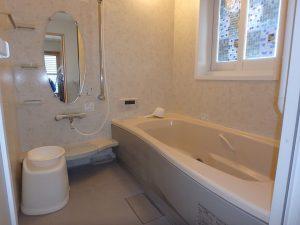 千葉県館山市湊の不動産、中古住宅、戸建て、移住、浴室もきれいです