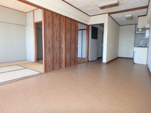 千葉県南房総市和田町仁我浦の不動産、マンション、海が見える、海一望、房総シーサイドコンド、隣接して和室二間