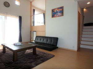 千葉県館山市湊の不動産、中古住宅、戸建て、移住、再びリビングに戻ります