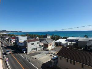 千葉県南房総市和田町仁我浦の不動産、マンション、海が見える、海一望、房総シーサイドコンド、海は一望できます
