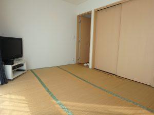 千葉県館山市湊の不動産、中古住宅、戸建て、移住、畳フロアは6帖と収納