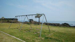 千葉県南房総市白浜町乙浜の不動産、中古戸建て、収益物件、別荘、海前、海望む、ビーチに隣接する公園
