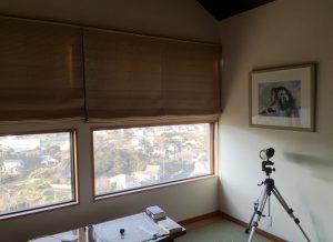 千葉県館山市加賀名の不動産、海が見える別荘、ポピーランド、海一望、FIX窓は風景画の代わり