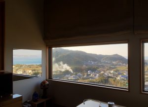 千葉県館山市加賀名の不動産、海が見える別荘、ポピーランド、海一望、山の景色と反射して海も