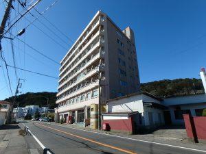 千葉県南房総市和田町仁我浦の不動産、マンション、海が見える、海一望、房総シーサイドコンド、国道128号沿い