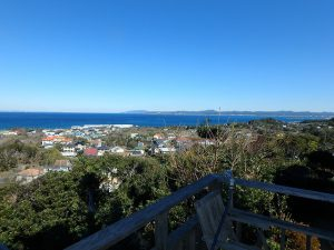 千葉県館山市加賀名の不動産、海が見える別荘、ポピーランド、海一望、理想的な海の景観