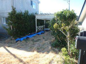 千葉県館山市加賀名の不動産、海が見える別荘、ポピーランド、海一望、一旦外に出て敷地山側に